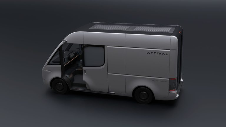 Van prototype by ARRIVAL